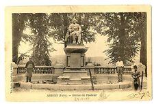 CPA 39 Jura Arbois Statue de Pasteur animé