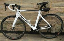 Pinarello Gan carbon road bike, white, 54cm frame, great condition