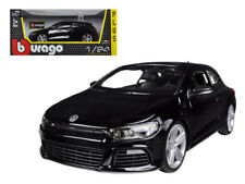 1/24 Bburago Volkswagen Scirocco R Black Diecast Model Car Black 18-21060