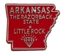 Arkansas The Razorback State Souvenir Fridge Magnet