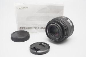 Olympus Zuiko Digital 50mm f/2 F2 ED Macro Lens For 4/3, Four Thirds Mount