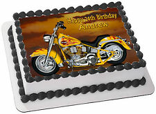 Harley Davidson Birthday Party Cakes eBay