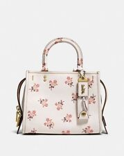 Coach 1941 Rogue 25 with floral bow print chalk $650