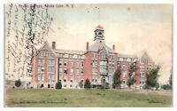 1907 Keuka College, Keuka Lake, NY Hand-Colored Postcard
