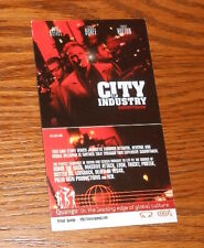 City of Industry Movie Soundtrack Card handbill Promo 5x2.75