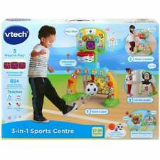 vTech Baby 3-in-1 Sports Centre - Basketball Hoop Football Goal Net and Target