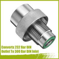 Diving Compressor Charging Scuba Adapter 232 Bar DIN Outlet To 300 Bar DI