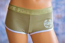 NWT VICTORIAS SECRET VS PINK Logo Low Rise Boyshort Panty Panties L Underpant