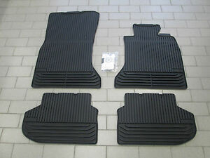 New Genuine BMW F10 5 Series Tailored Rubber Car Mats Front Rear 51472346785