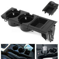 Fit For BMW 3 Series E46 Black Center Console Cup Holder Storing Coin Holder UK