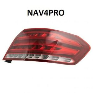 NEW 2014 Mercedes Benz E class OE Style Passenger Right Side Outer Tail Light