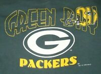 Vintage 90's Men's Green Bay Packers Sweatshirt Nutmeg USA Extra Large XL 1993