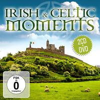 CD DVD Irish and Celtic Moments von Various Artists  2CDs + DVD Set