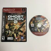 Tom Clancy's Ghost Recon 2 (Sony PlayStation 2, 2004) Tested