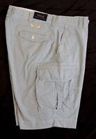 Men Polo Ralph Lauren Fatigue Cargo Military Classic Pincord Striped Shorts Tall