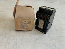 One (1) Genuine GE CR122AT05331 Industrial Time Delay Relay, NOS