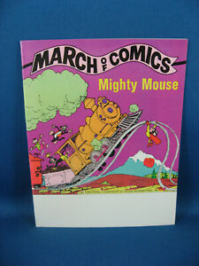 MARCH OF COMICS 447 NM+ MIGHTY MOUSE PROMO 1978