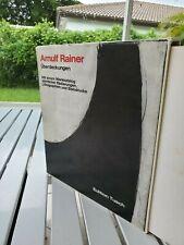 ARNULF RAINER UBERDECKUNGEN BY OTTO BREICHA 1972 LIMITED EDITION SLIPCASE