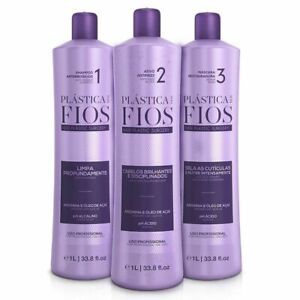 Cadiveu Plastica dos Fios Straightener Brazilian Keratin Wires Treatment 3 x 1L