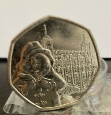 **Paddington Bear At The Tower Of London** *2019 Rare 50p collectors coin*