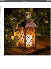 Take Me Solar Lantern, Outdoor Garden Hanging Lantern Waterproof Led Flickering