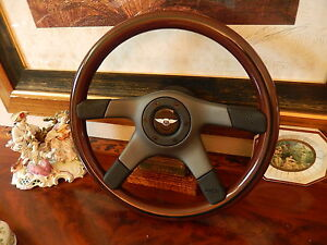 Bentley Turbo R Sport Wood Steering Wheel 1985 - 1989 Nardi New
