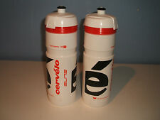CERVELO WATER BOTTLE TEAM  750ml by ELITE x 2