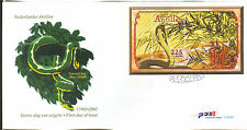 ANTILLEN 2001  FDC 322A YEAR OF THE SNAKE