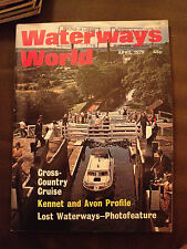 APR 1979 WATERWAYS WORLD MAGAZINE