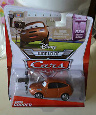 Disney Pixar Cars WORLD OF CARS RSN SERIES CORA COPPER 6/8 NEW