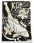 KOI TATTOO FLASH Tattoo Design Black  Grey 51-page Variety Flash Book Supply