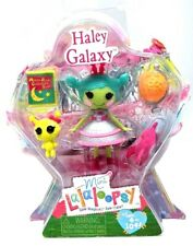 NEW Mini Lalaloopsy Figure Doll Haley Galaxy RARE Series Exclusive Moon Rock Toy