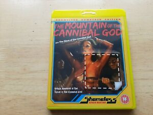 THE MOUNTAIN OF THE CANNIBAL GOD BLU-RAY UK EDITION REG B HORROR FILM MOVIE