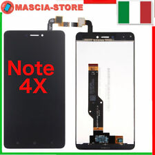 TOUCH SCREEN VETRO + LCD DISPLAY XIAOMI REDMI NOTE GLOBAL 4 4x Schermo NERO