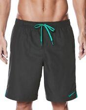 Nike NEW Gray Mens Size Small S Drawstring Board Surf Shorts $40 #891 SALE