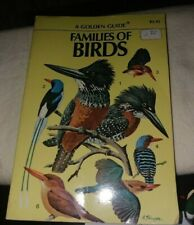 PB GOLDEN GUIDE FAMILIES OF BIRDS COLORFUL PHOTOS AMERICAN 208 SPECIES