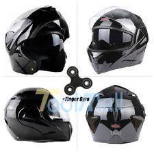 DOT Full Face Flip up Motorcycle Helmet Dual Visor Bike Race Size & Color Opt