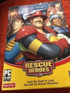 Mission Select Rescue Heros PC CD ROM NEW