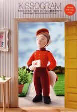 KNITTING PATTERN ALAN DART TOY MESSENGER VALENTINES BELLBOY SUPERB BN