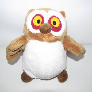 "Gund Fall Friends Whoot Hoot Owl Stuffed Plush 6"" Excellent"