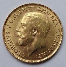 George v or 1913 demi souverain pièce grade supérieur - 1053