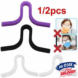 Anti Fog Nose Clip Recyclable Nose Bridge Defogger for Face Masks Glasses Grip
