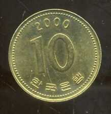 COREE DU SUD  10 won  2000  ( bis )