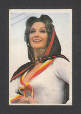 The Protectors Nyree Dawn Porter 1975 TV Card Look! from Spain