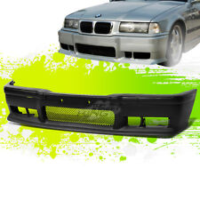 PAINTABLE M3 STYLE FRONT BUMPER BODY KIT+GRILLE INSERT FOR 92-98 E36 3-SERIES