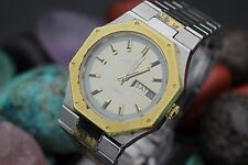 Vintage BAYLOR Automatic  2 Tone Stainless Steel Men's Dress Watch