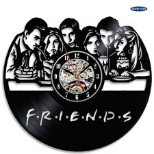 Classic TV show FRIENDS theme decorative vinyl wall clock