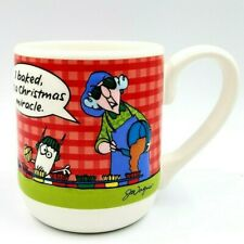 Maxine 16 oz 3D Coffee Mug Cup I Baked, Its a Christmas Miracle Hallmark