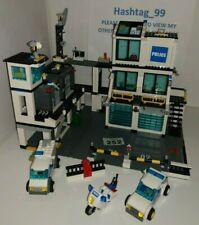 LEGO CITY - POLICE HEADQUARTERS - 7744 - 90% COMPLETE - FREE P&P