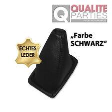 LEDER SCHALTSACK SCHALTMANSCHETTE PASST FÜR MERCEDES W124 SCHALTHEBEL - SCHWARZ